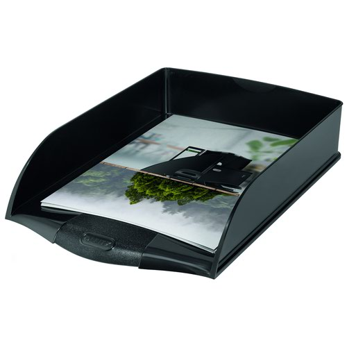 Leitz Recycle Letter Tray Black 53240095