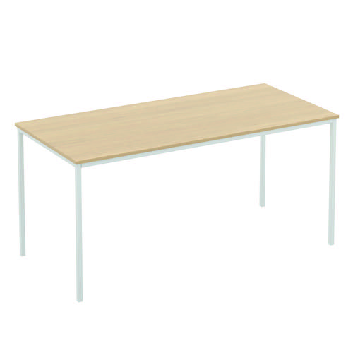 Baseline Rectangular Meeting Table 1200x600x740mm Walnut ALT12/6/BWA