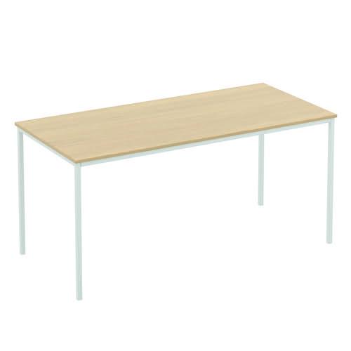 Baseline Rectangular Meeting Table 1600x600x740mm Grey ALT16/6/BG