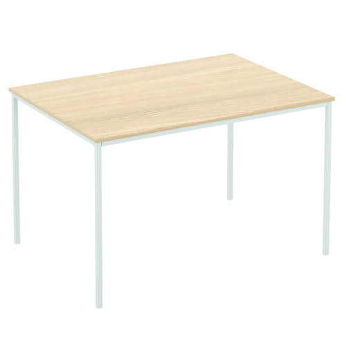 Baseline Norton Rectangular Table 992x707x830mm Grey REFA1/BG