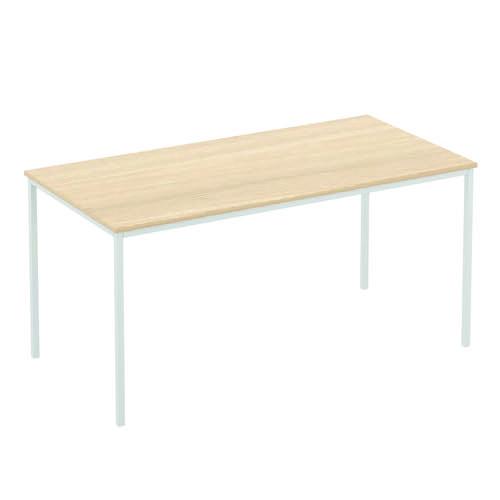 Baseline Norton Square Meeting Table 600x600x740mm Walnut T24/24/BWA