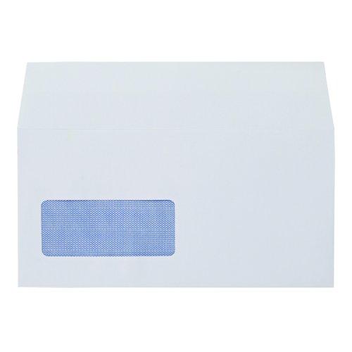 Value Wallet Envelopes Self-Seal Window DL White 90gsm (500)
