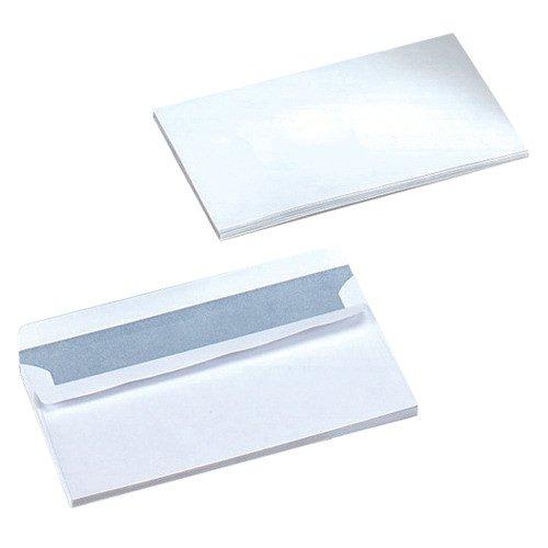 Value Wallet Envelopes Self-Seal DL White 80gsm (50)