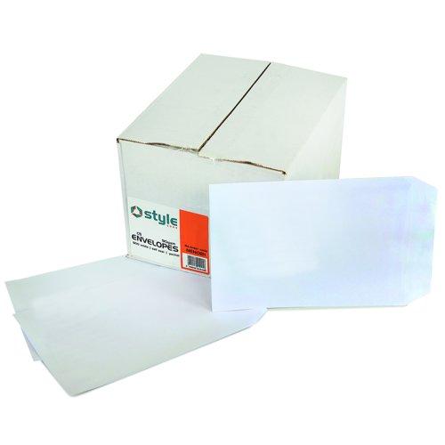 Style CORE Pocket Envelopes Self-Seal C5 White 90gsm (500)