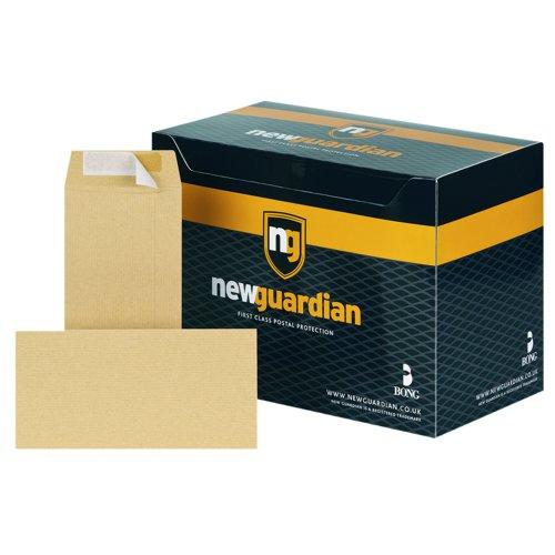 New Guardian Pocket Envelopes Peel & Seal DL Manilla 130gsm (500) E26503