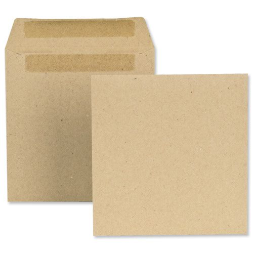 New Guardian Wage Envelopes Plain 108x102mm Manilla 80gsm (1000) L20219