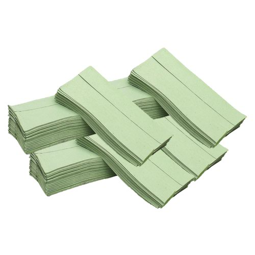 Hand Towels 1Ply C-Fold 310x225mm Green (2955)