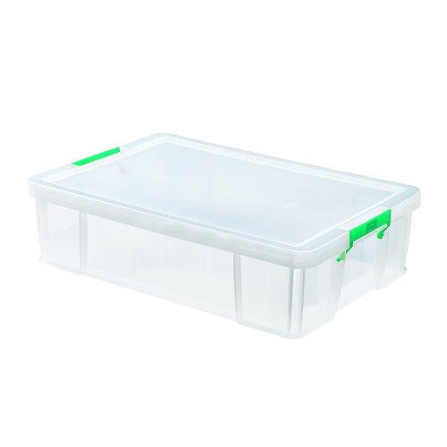 StoreStack Storage Box 37 Litre 680x440x170mm Clear RB75899