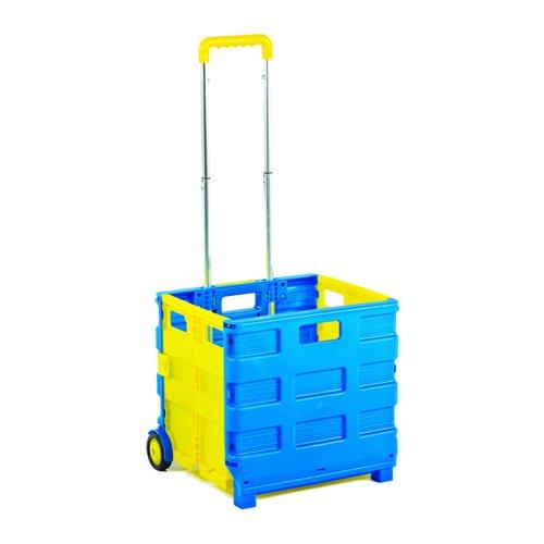 ProPlaz Folding Box Truck Blue/Yellow GI040Y