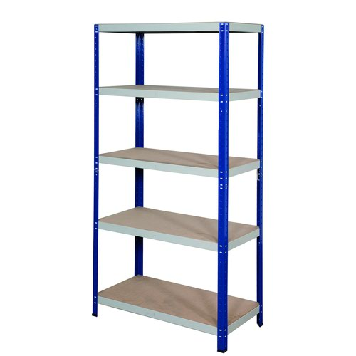 GPC Office Shelving 1770x900x300mm Blue/Grey CL17930Z