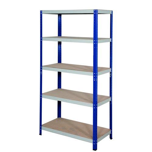 GPC Office Shelving 1770x900x600mm Blue/Grey CL17960Z