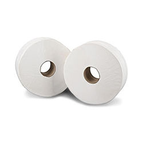 Mini Jumbo Toilet Roll 2ply 76mm Core 200m (12)