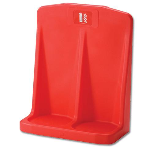 Fire Extinguisher Stand Double IVGSFSD