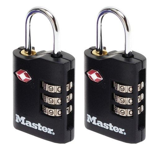 Master Lock Combination Padlocks 30mm (2) 40046