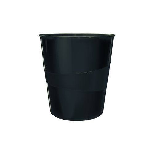 Leitz Recycle Waste Paper Bin Black 53280095