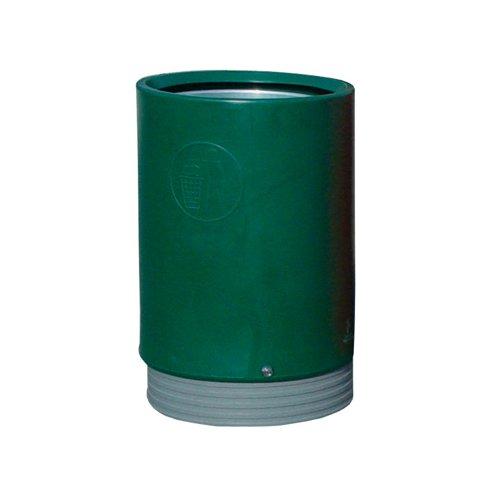Heavy Duty Open Top Bin Dark Green