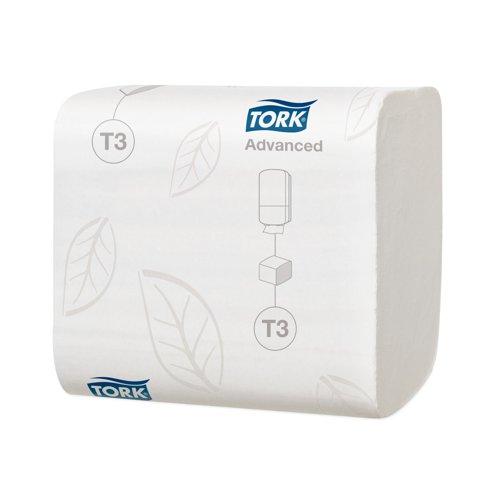 Tork T3 Folded Toilet Tissue 2Ply 242sheets White (36) 114271