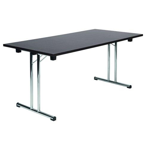Teknik Office Space Folding Executive Table Wenge 6909WENGE