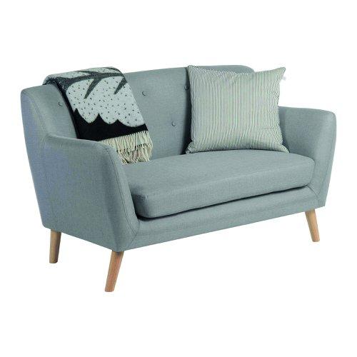 Teknik Office Skandi Two Seater Sofa Grey 6981
