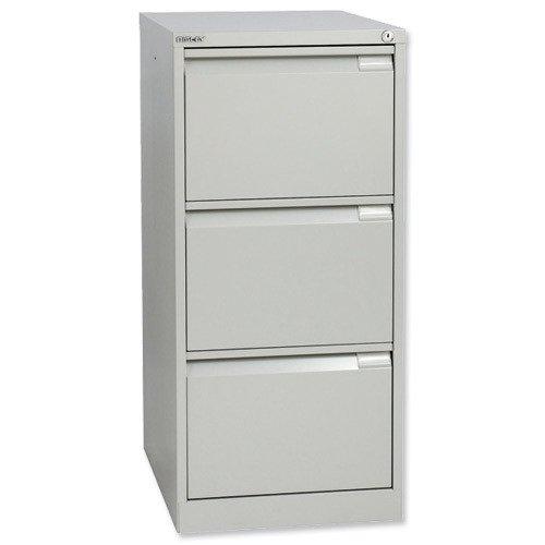 Bisley Filing Cabinet 3 Drawer 470x622x1016mm Grey BS3EGY