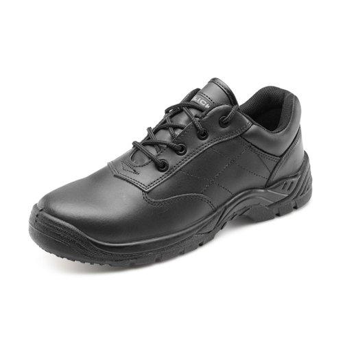 Beeswift S1P Composite Shoes Black Size 10.5/EU45 CF52BL10.5
