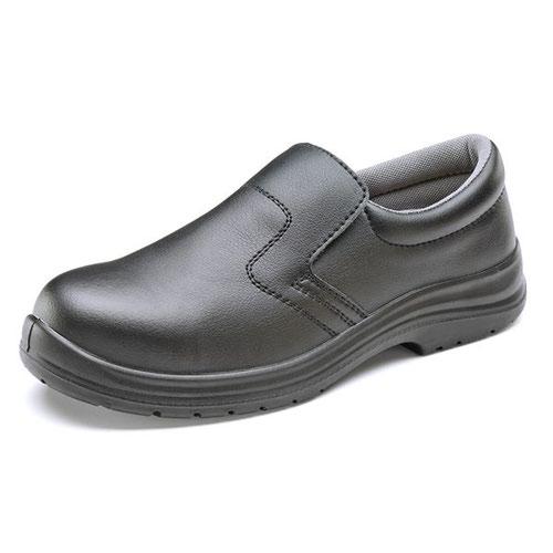 Beeswift Micro Fibre Slippers Black Size 11/EU46 CF83311