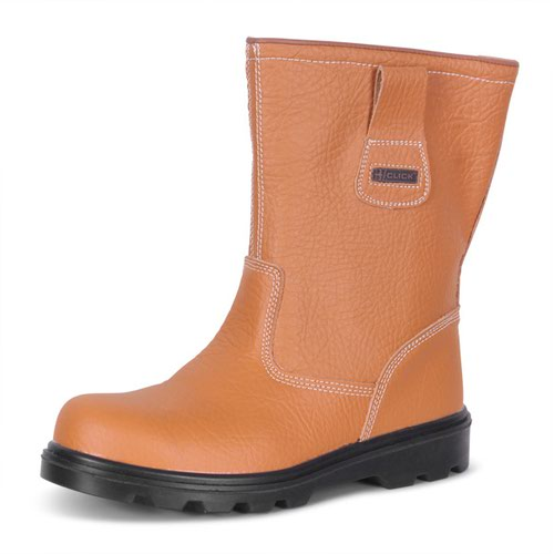 Beeswift Lined Rigger Boot Tan Size 10/EU44 RBLS10