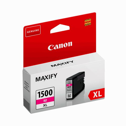 Canon No.1500 Inkjet Cartridge High Capacity Magenta PGI1500XLM 9194B001