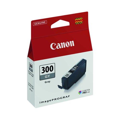 Canon No.300 Inkjet Cartridge Grey PFI-300GY 4200C001