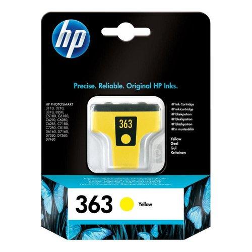HP No.363 Inkjet Cartridge Yellow C8773EE