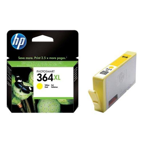 HP No.364XL Inkjet Cartridge High Capacity Yellow CB325EE