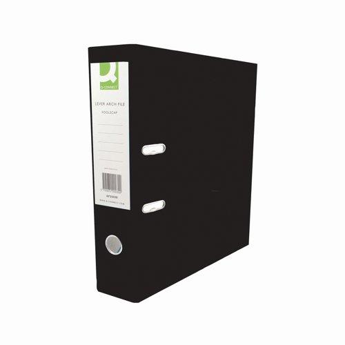 Value PVC Lever Arch File A4 Black