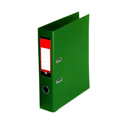 Value PVC Lever Arch File A4 Green