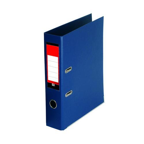 Value PVC Lever Arch File A4 Royal Blue