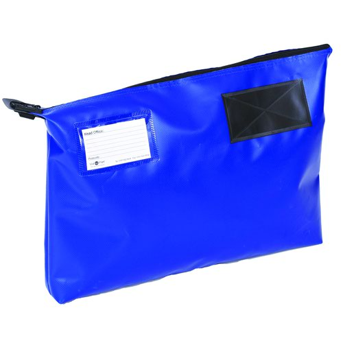 Value Gusseted Mailing Pouch A3 470x336x76mm Blue