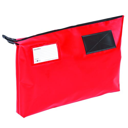 Value Gusseted Mailing Pouch A3 470x336x76mm Red