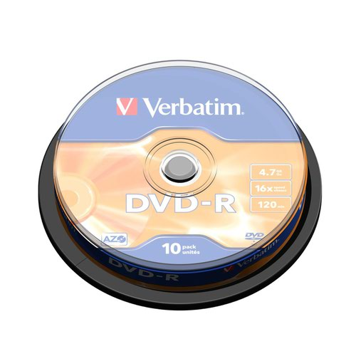 Verbatim DVD-R Spindle (10) 43523