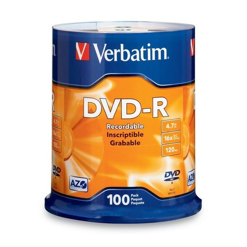 Verbatim DVD-R Spindle (100) 43549
