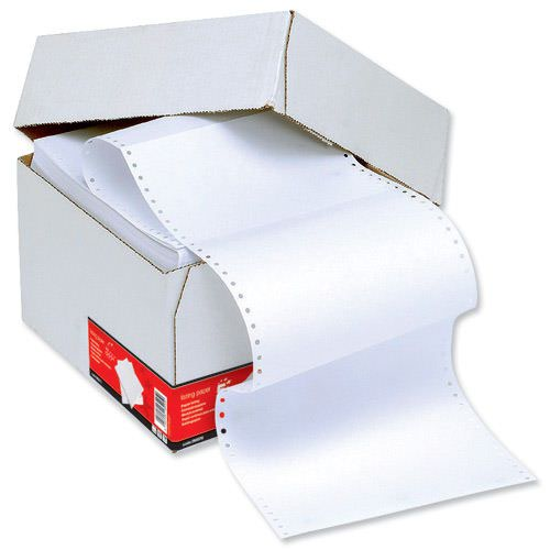 Value Listing Paper 1part 279x241mm Plain 70gsm Standard Perforated (2000)
