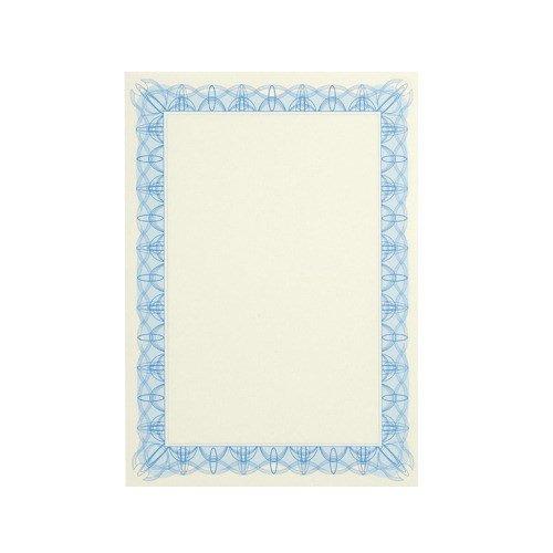 Certificate Paper A4 90gsm Blue Reflex (30)