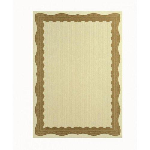 Certificate Paper A4 90gsm Bronze Wave (30)