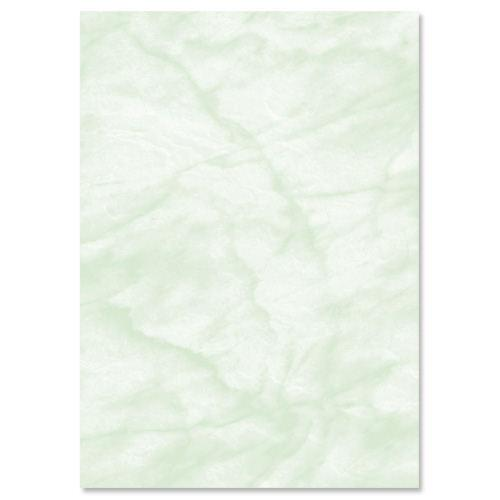 Marble Paper A4 90gsm Green (100)