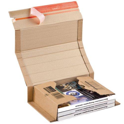 ColomPac Postal Wrap 217x155x60mm Brown (20) CP020.02