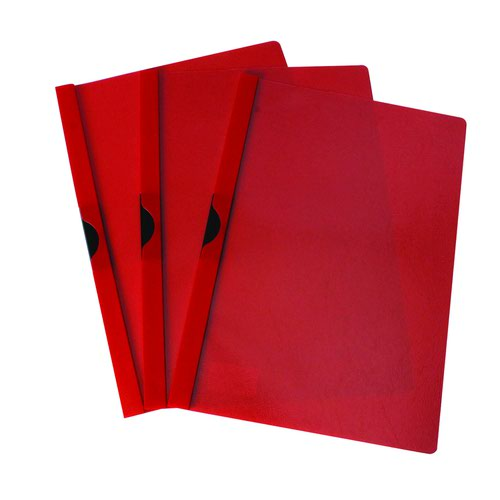 Value Clip File 3mm Red (25)