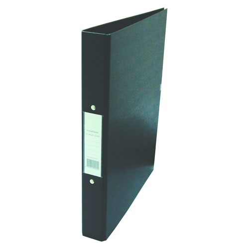 Value PVC 2 Ring Binder A4 Black