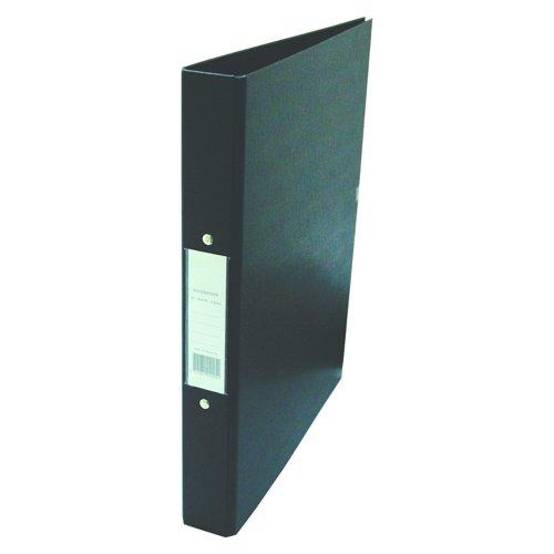 Value PVC 2 Ring Binder A4 Black