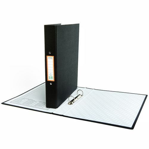 Style CORE Ring Binder 2 Ring A4 Black