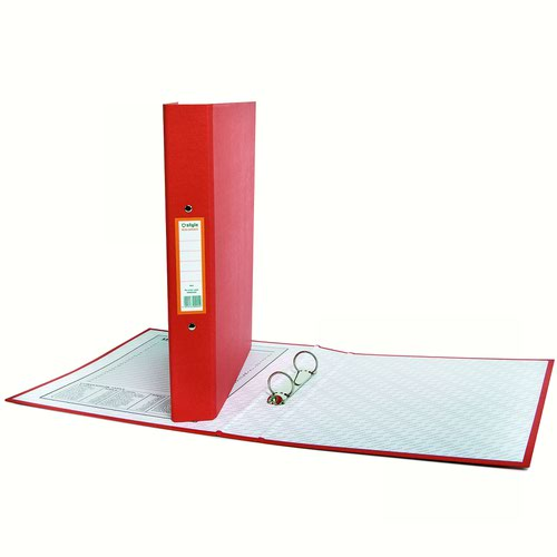 Style CORE Ring Binder 2 Ring A4 Red