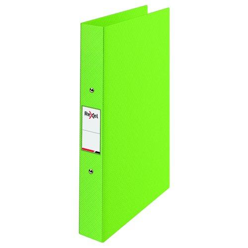 Rexel Choices Polypropylene Ring Binder A4 25mm Green 2115567