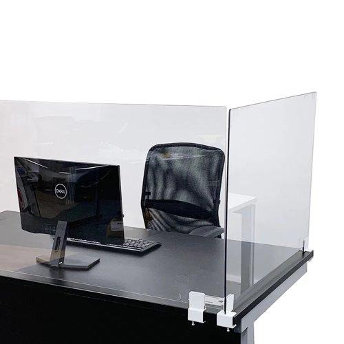 Beaverswood Office Desk Screen 600x1200mm Bracket B ODS1260/B